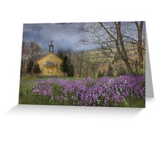 Country Charm School Greeting Card