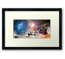 Back to the Future Tribute Framed Print