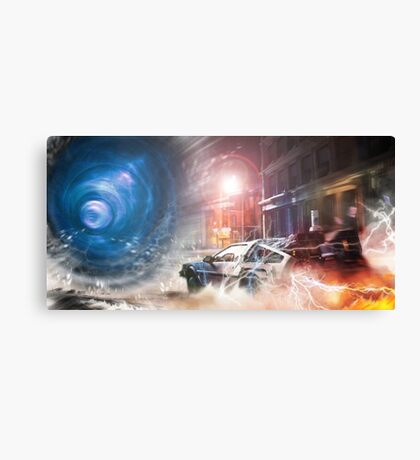 Back to the Future Tribute Canvas Print