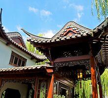 pagoda by Anne Scantlebury