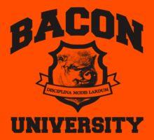 Bacon University Kids Clothes