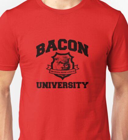 Bacon University Unisex T-Shirt