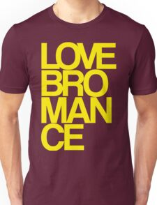 Love Bromance (yellow) Unisex T-Shirt
