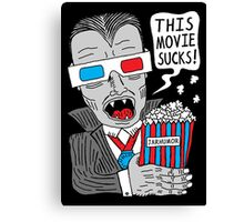 This Movie Sucks Canvas Print