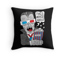 This Movie Sucks Throw Pillow
