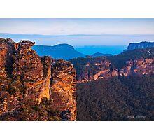Boars Head  Katoomba Blue Mountains NSW Photographic Print