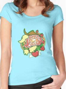 Applejack's Cereal Women's Fitted Scoop T-Shirt