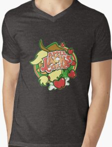 Applejack's Cereal Mens V-Neck T-Shirt