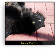 Friday The 13th Metal Print
