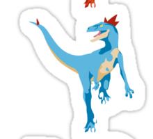 Pokesaurs - Dromaeosaurus Starterus Sticker
