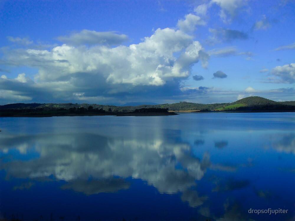 Reflective cloud by Louise Delahunty