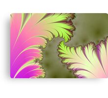 Fractal Leaves Canvas Print