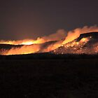 Fire on Table Mountain by Saraswati-she