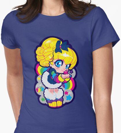 rainbow brite Womens Fitted T-Shirt