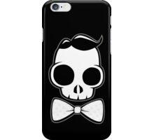 Skull Classy Bow Tie iPhone Case/Skin