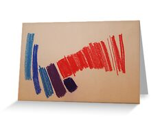 Abstract Pastel 4 Greeting Card