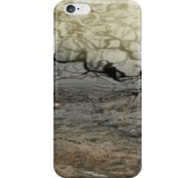 Winter Pond Abstract iPhone Case/Skin