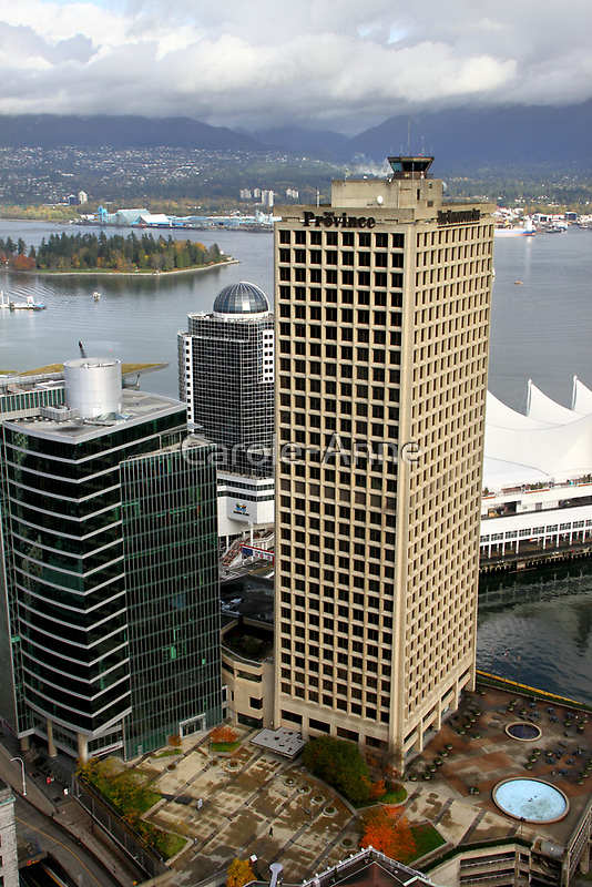 Vancouver City & Harbour, Canada by Carole-Anne