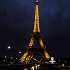 Eiffel Tower - Paris, FRance by Peter Ede