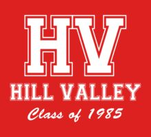 Hill Valley High School Class of 1985 Kids Clothes