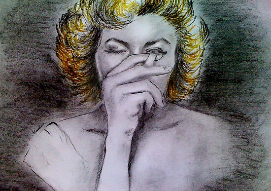 Smoking Marilyn  by Manana11