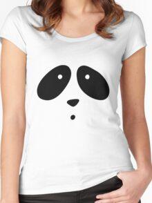 MR. PANDA Women's Fitted Scoop T-Shirt
