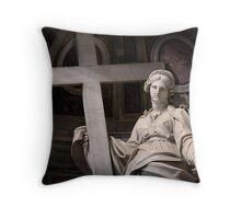 Vatican Statue I Throw Pillow