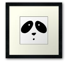 MR. PANDA Framed Print