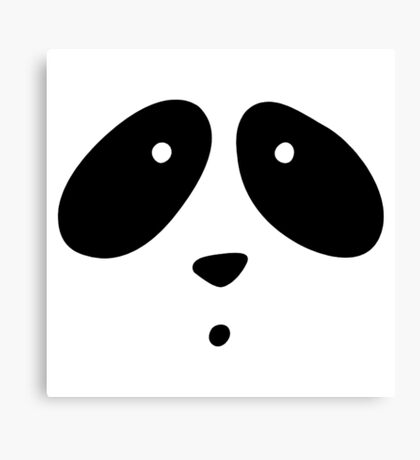 MR. PANDA Canvas Print