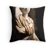 Vatican Statue II Throw Pillow