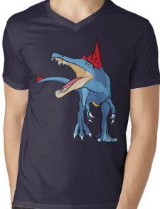 Pokesaurs - Spinosaurus Johtoiacus Mens V-Neck T-Shirt