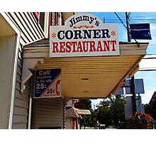 Jimmy's Corner Restaurant Photographic Print