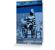Williamsburg jailbird Greeting Card