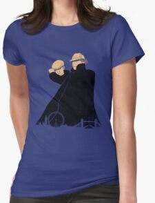 Hatman and Robin v.2 Womens Fitted T-Shirt