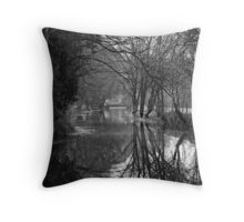 Trees and their Inverted Cousins Throw Pillow