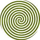 Triple Spiral Stock Image  by Toradellin