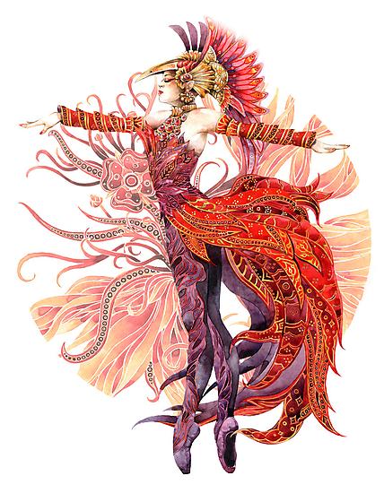 - Firebird - by Losenko  Mila