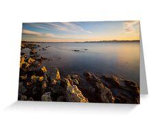Adriatic coast  Greeting Card