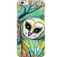 Funky Celtic Owl iPhone Case/Skin