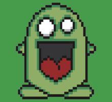 Pixel Friendly Monster Baby Tee
