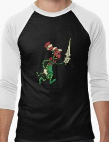 Battle Hat Men's Baseball ¾ T-Shirt
