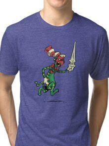 Battle Hat Tri-blend T-Shirt