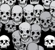 Skull Kitty Sticker