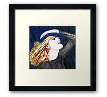 Ƹ̴Ӂ̴Ʒ I'M HOOKED ON A FEELIN Ƹ̴Ӂ̴Ʒ Framed Print