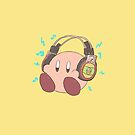Kirby - Sound Test Headphones by DaKirbyDood