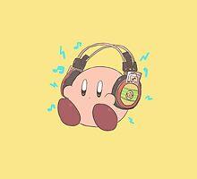 Kirby - Sound Test Headphones by DaKirbyDood
