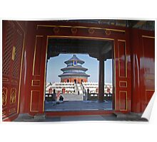 Beijing - 天壇. Sky Temple. Poster