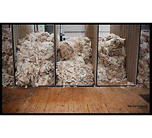 "Wool ""n"" shearing Photographic Print"