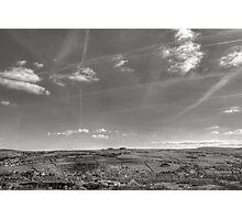 Big Yorkshire Sky Photographic Print