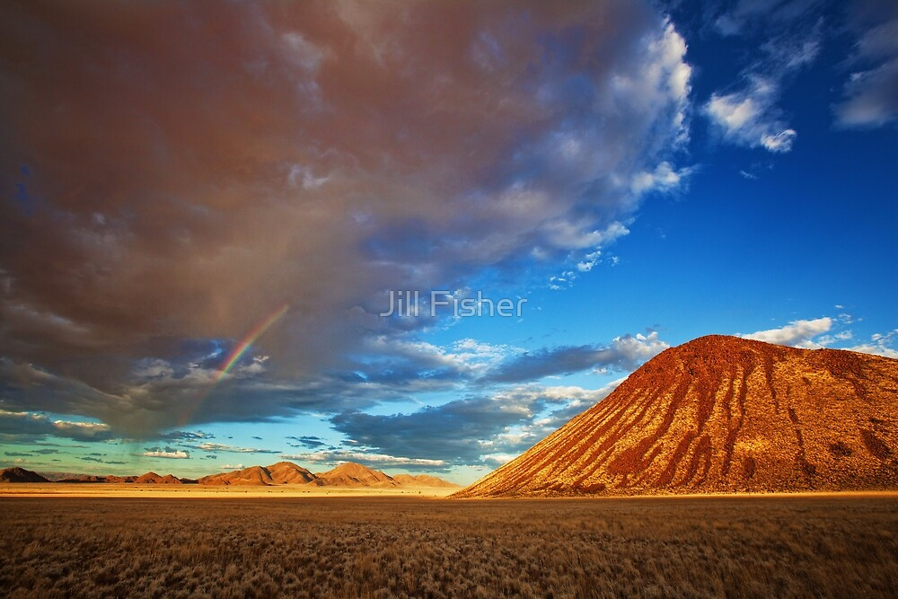 Rainbow in the Rain Cloud by Jill Fisher